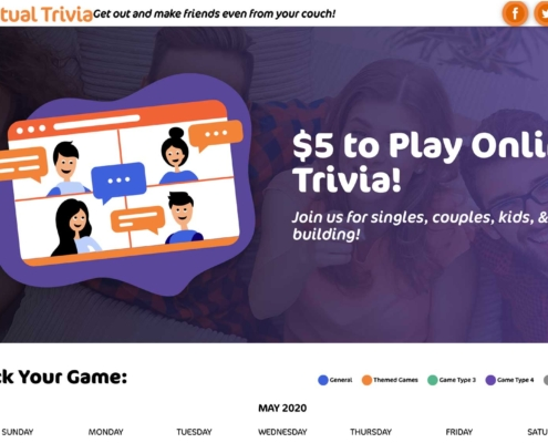 Play Virtual Trivia - Website Designers in DC