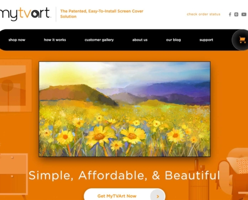 MyTVArt - Website Designer Washington DC